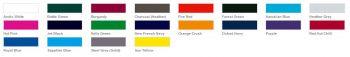 ARS-006 Farbübersicht